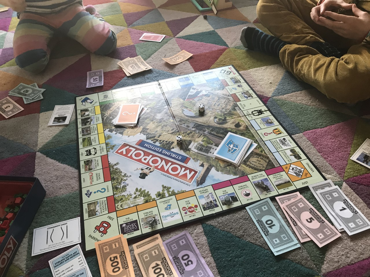 playing Stirling monopoly