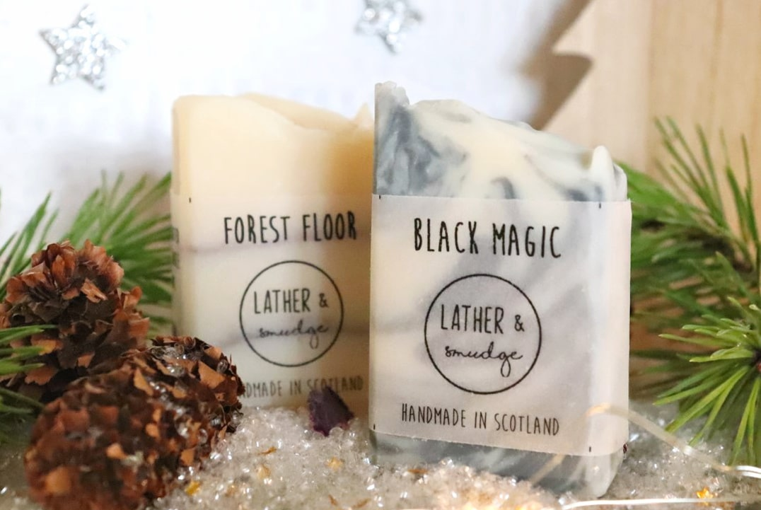 Lather and Smudge artisan soaps