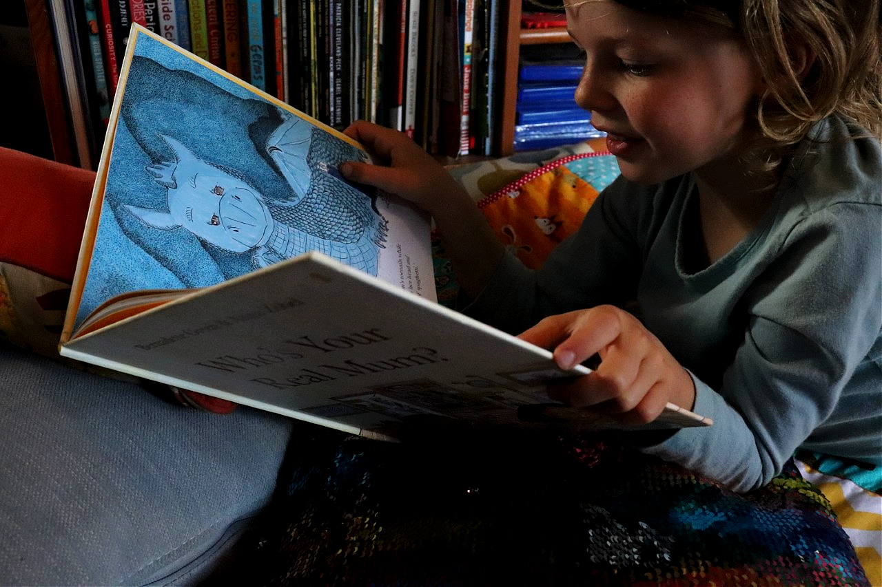 who's your real mum