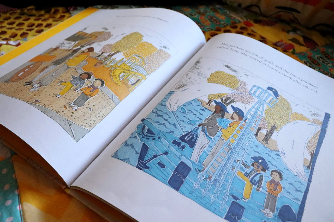 who's your real mum story book