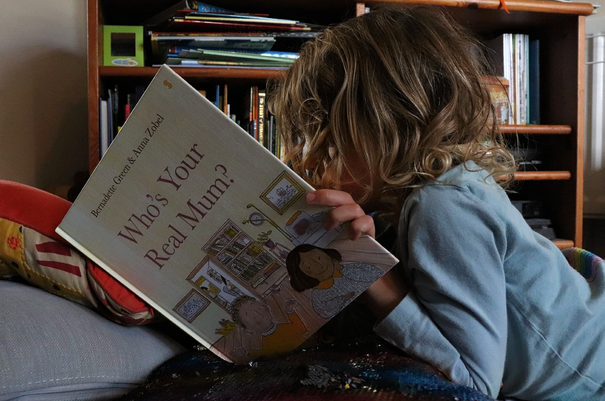 Who's your real mum book for LGBTQ+ families