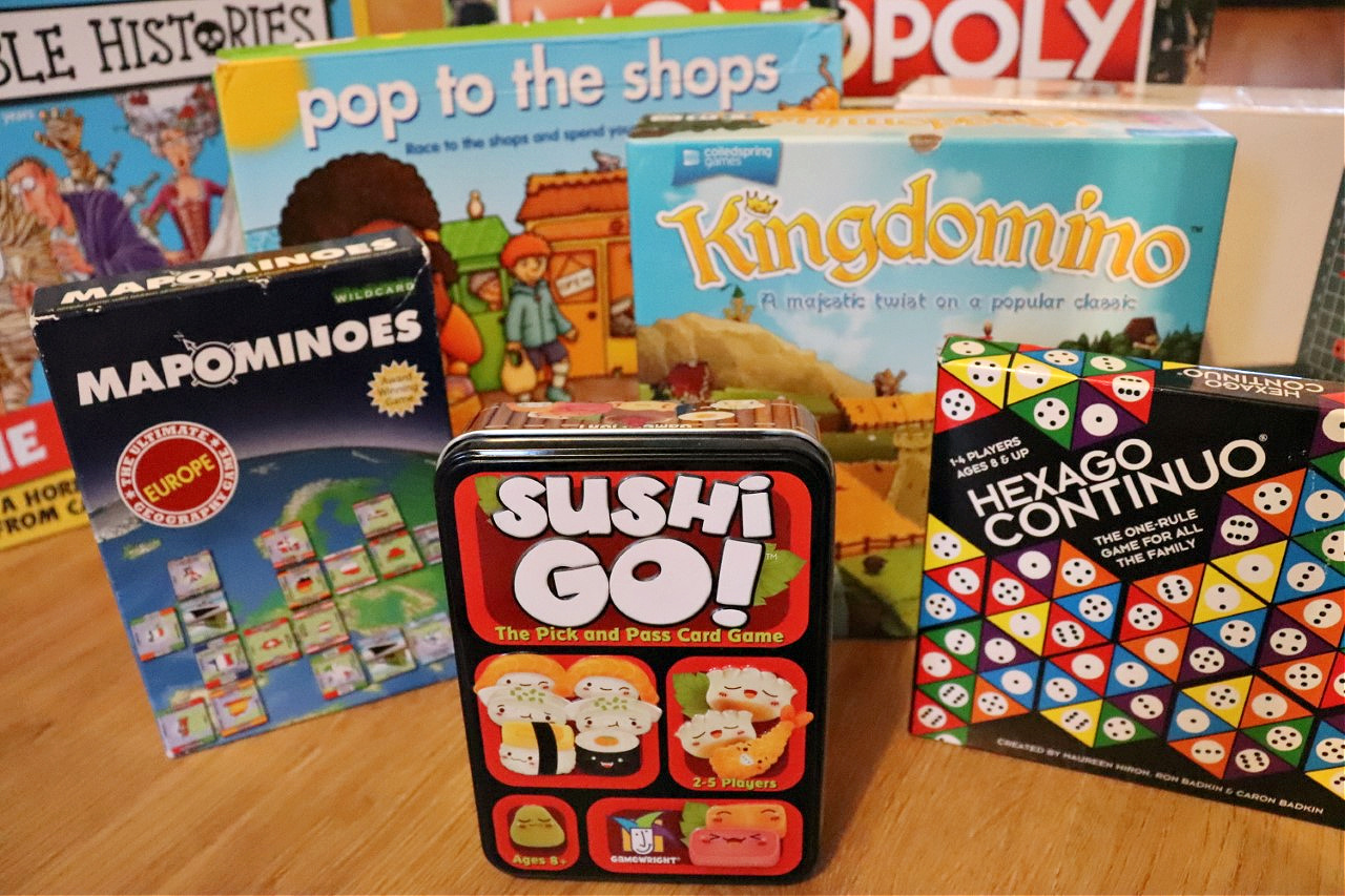 educational activities board game selection