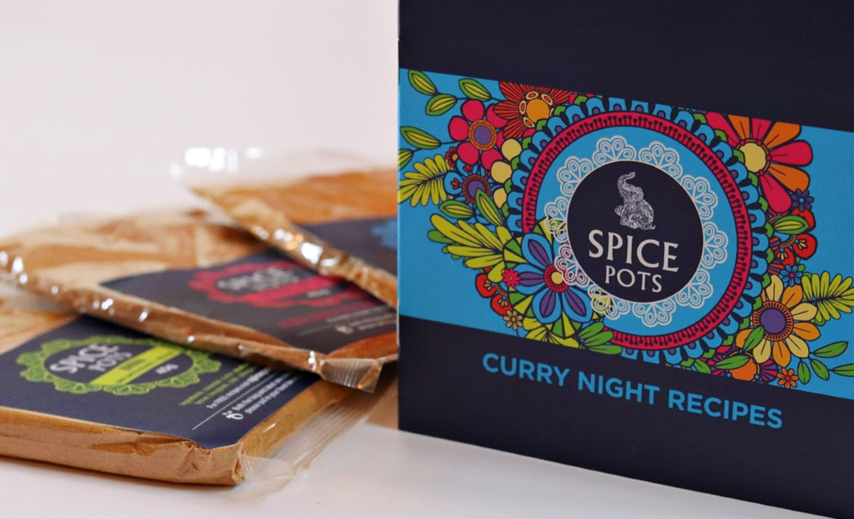 spice pots letterbox gifts