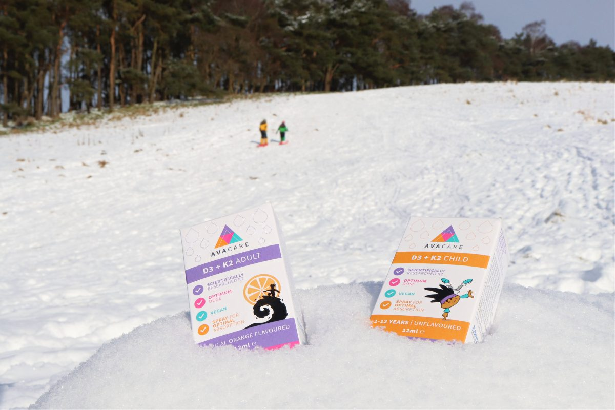 sledging with vitamin supplements