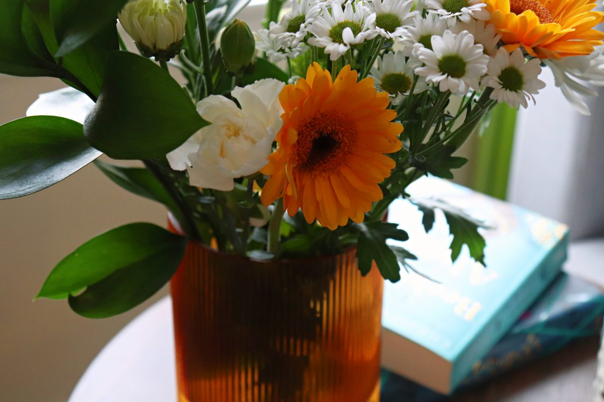 flowers in vase Very
