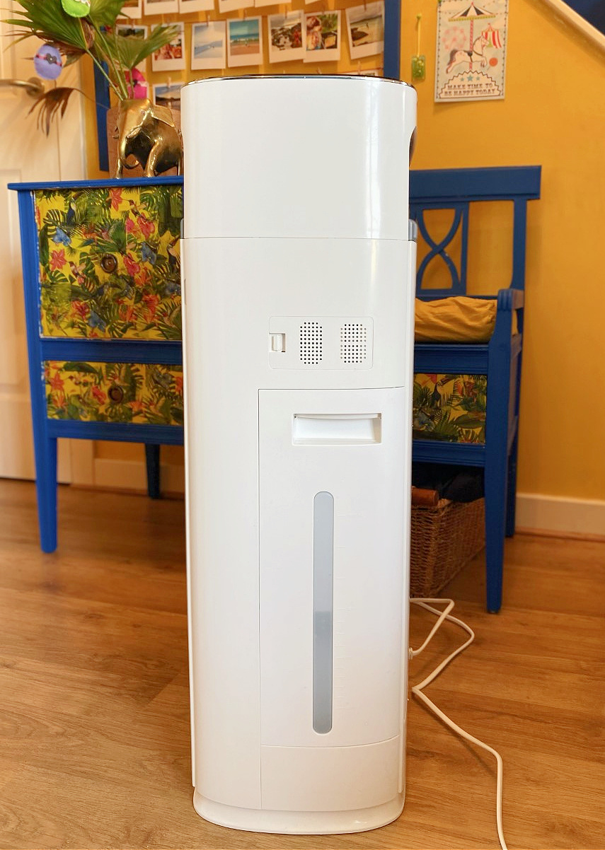 water tank and width of air purifier